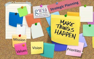 GWSA Strategic Plan: Input by Mar.1