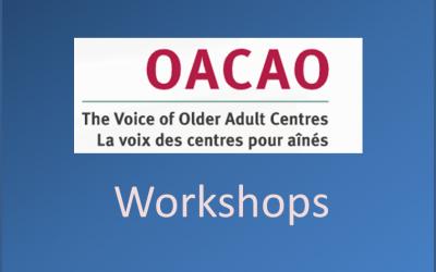Technology Workshop: Oct. 5
